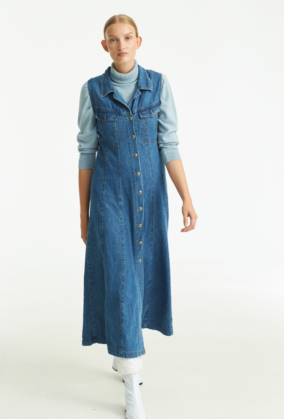 Vintage Collect23 denim dress