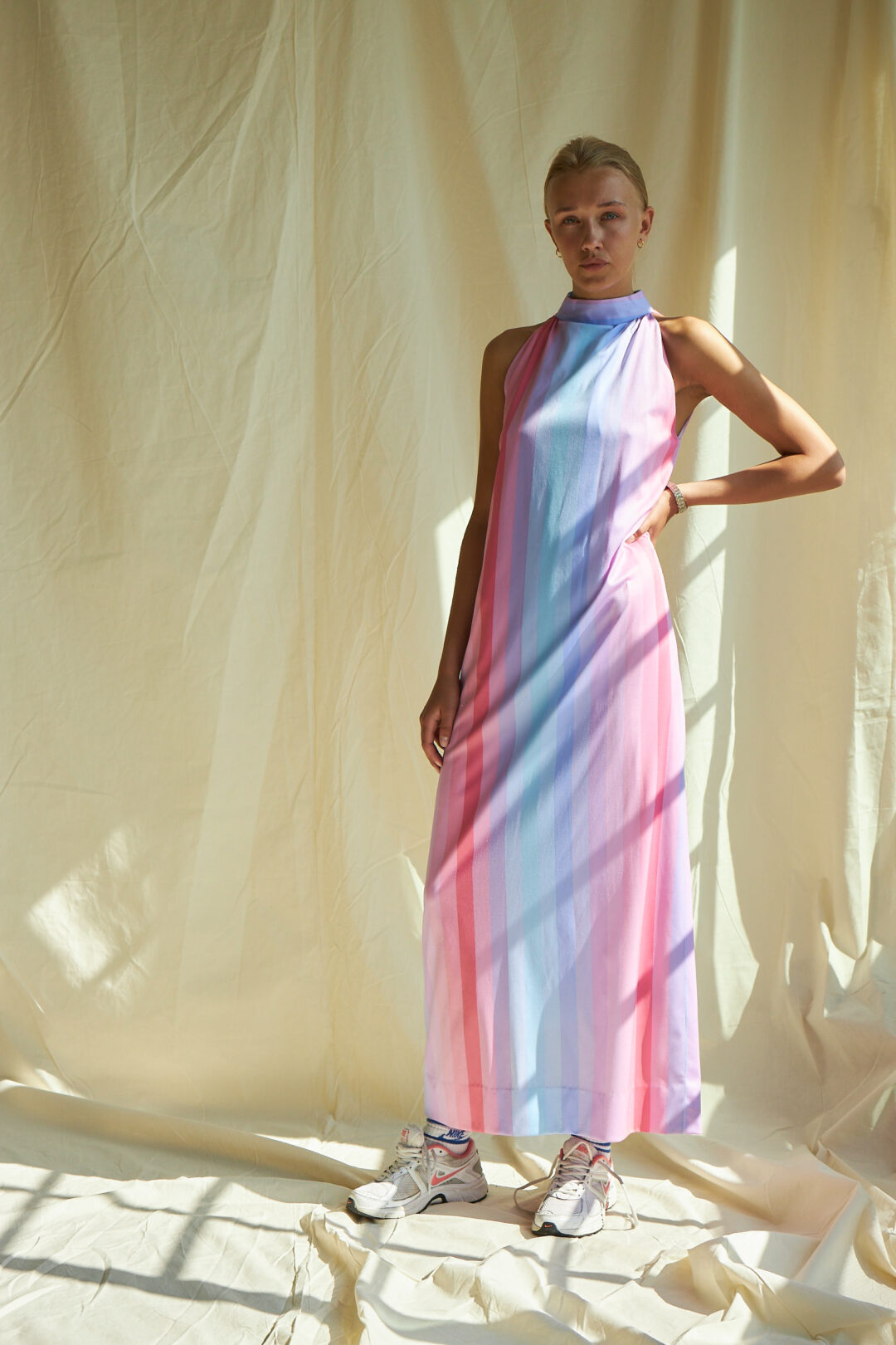 Collect23 pastel rainbow dress