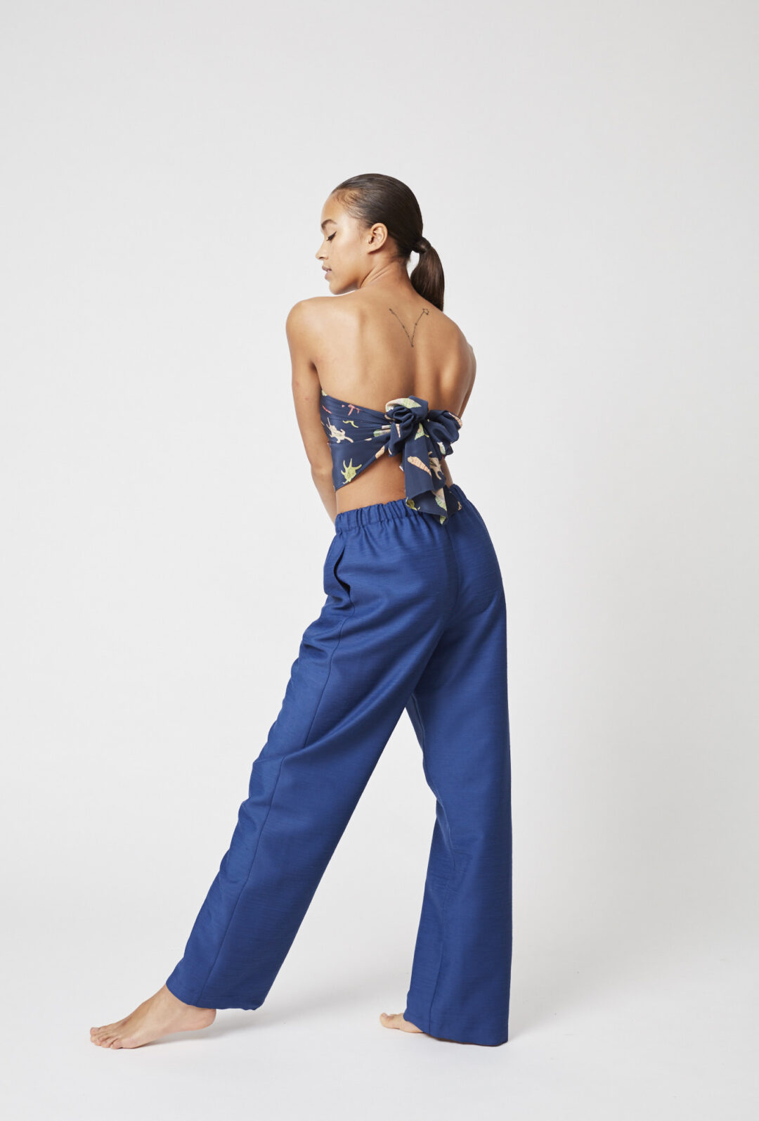 Collect23 Remade Cornflower pants