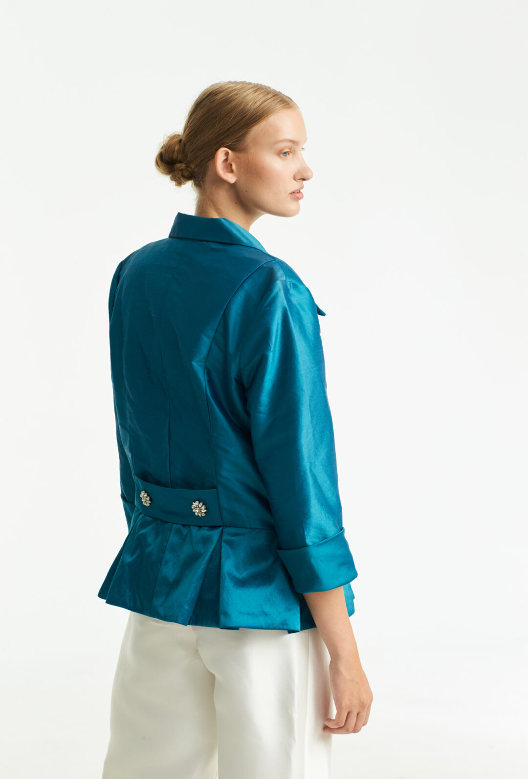 Vintage Collect23 silk jacket