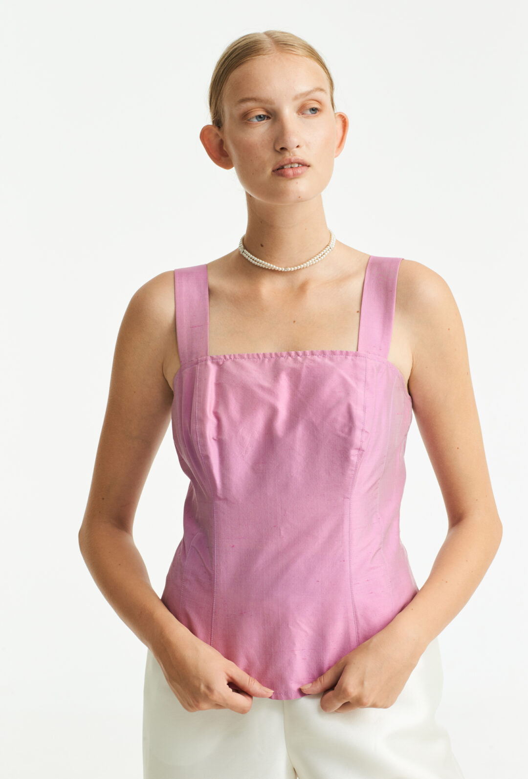 Collect23 silk top