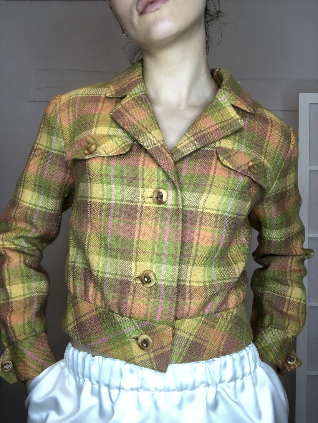 Collect23 checkered jacket