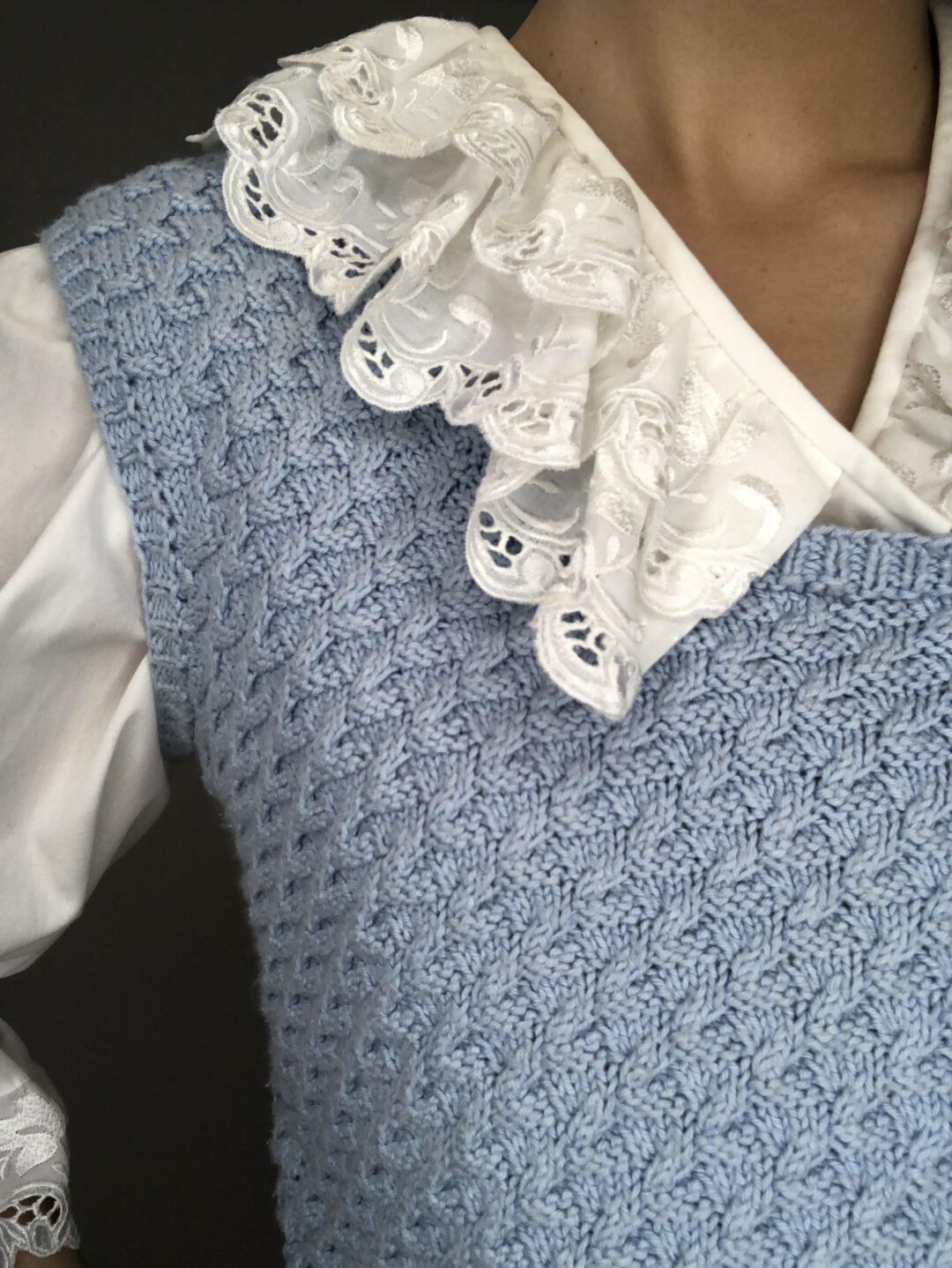 Vintage Collect23 knit vest
