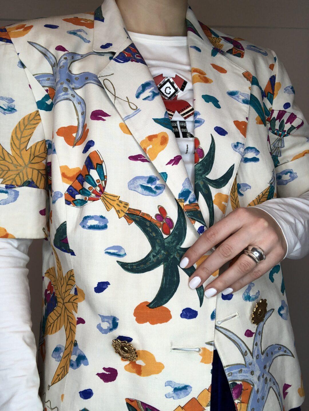 Vintage Collect23 Feraud jacket