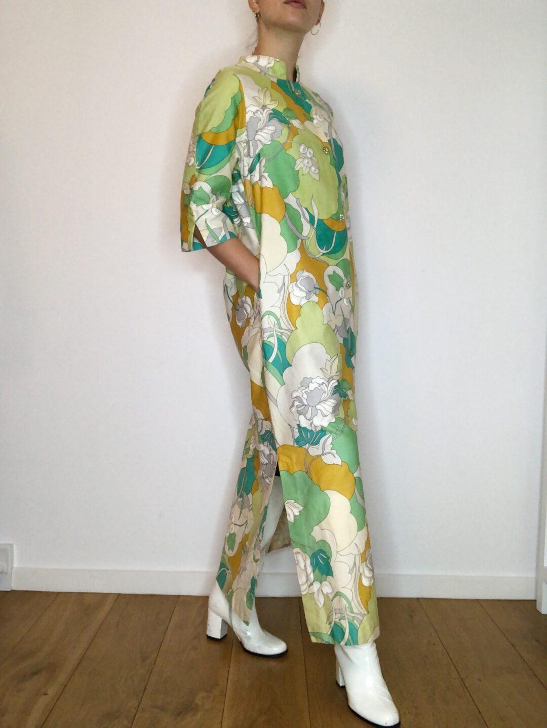 Vintage collect23 coat dress