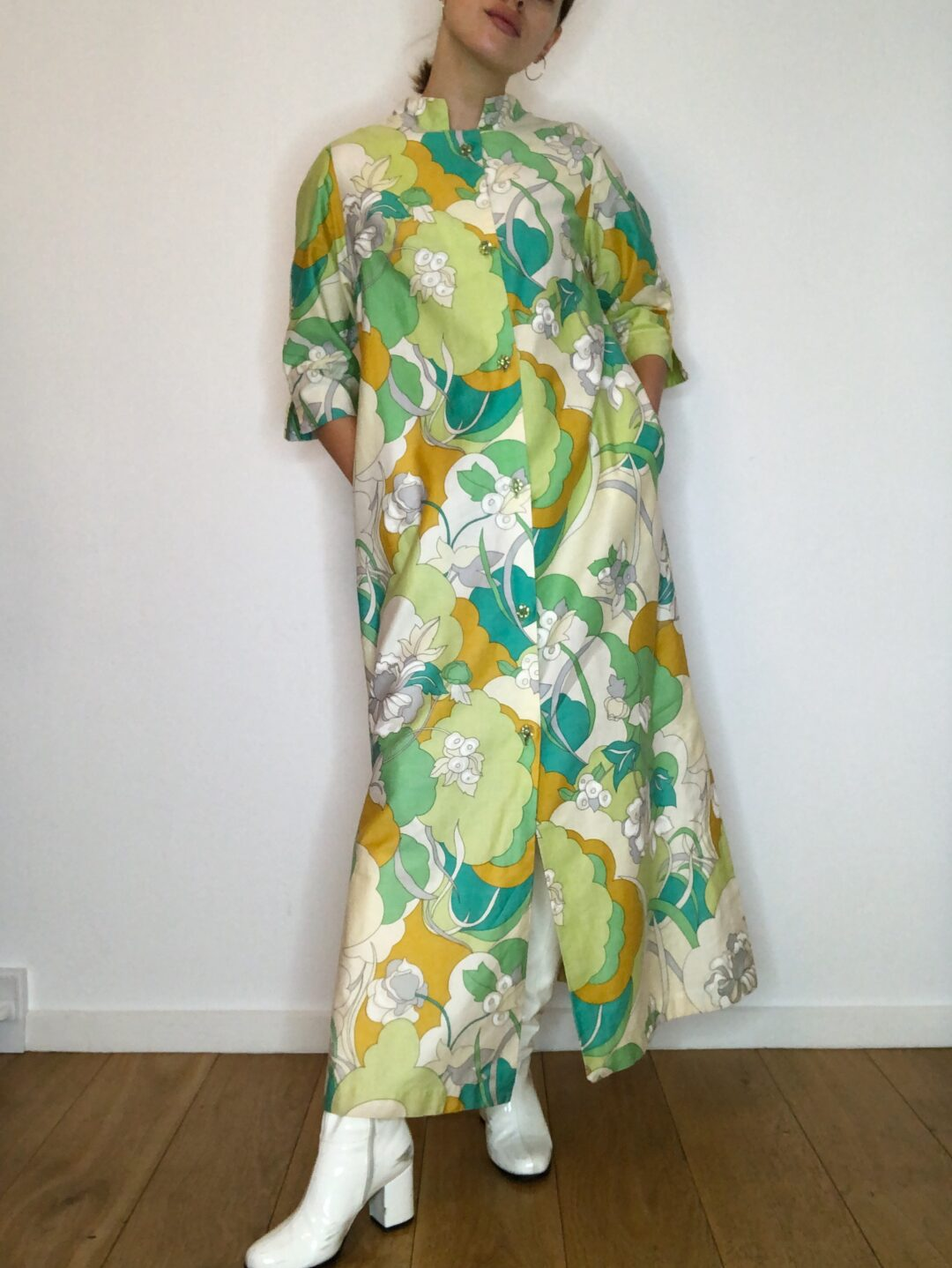 Vintage collect23 coat dress