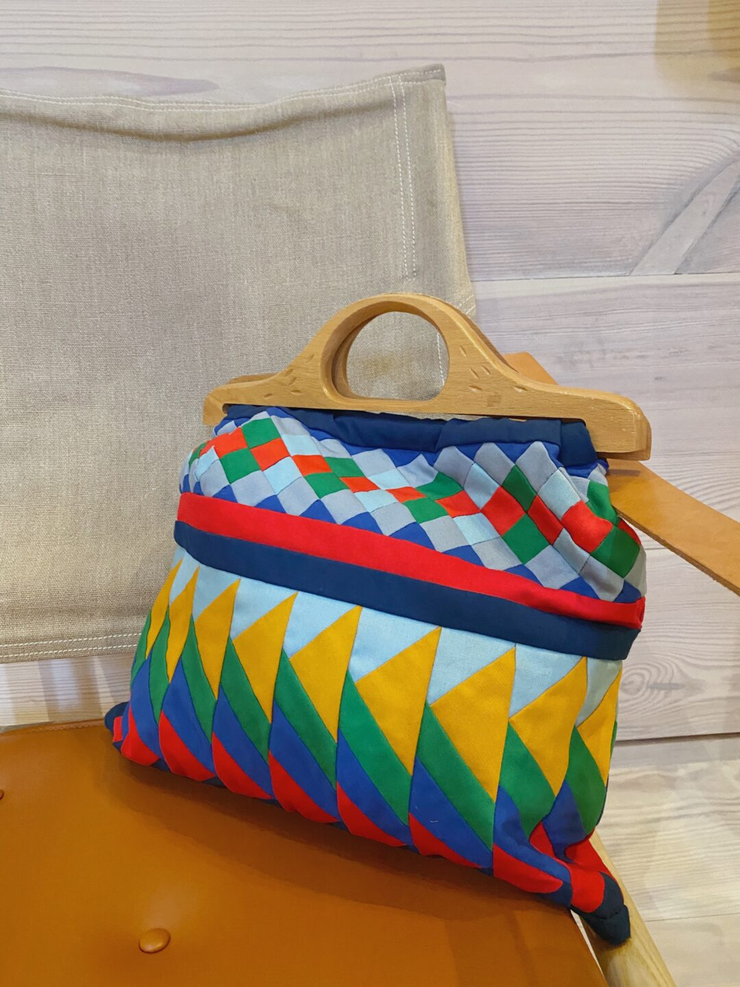 vintage patchwork bag