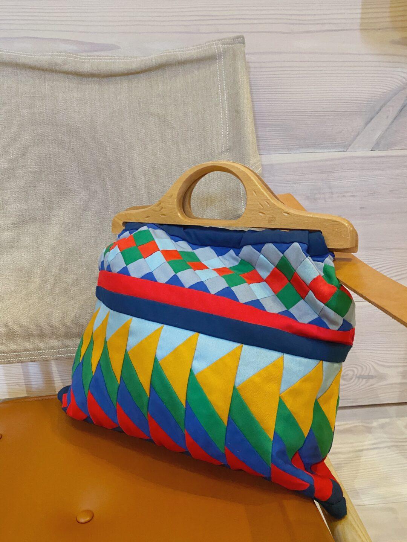 vintage patchwork bag
