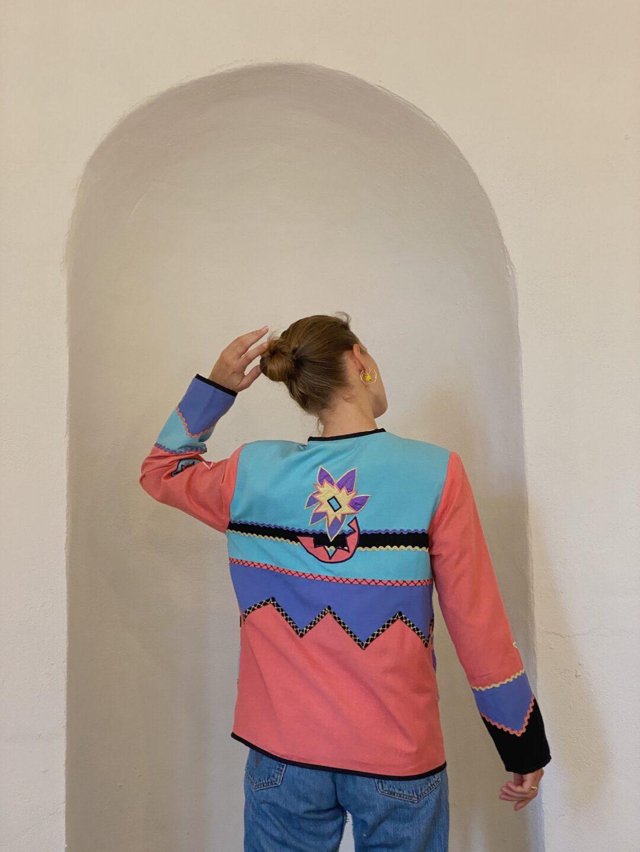 patchwork vintage jacket