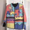Vintage Collect23 patchwork jacket