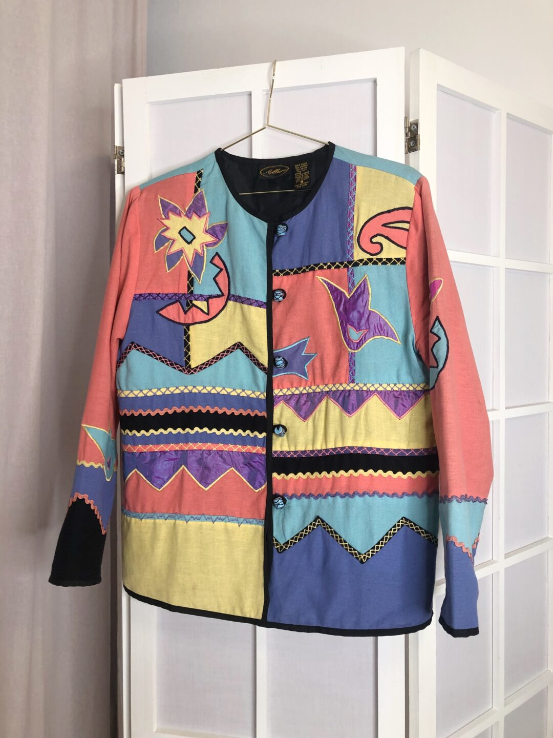 Vintage Collect23 patchwork jacket