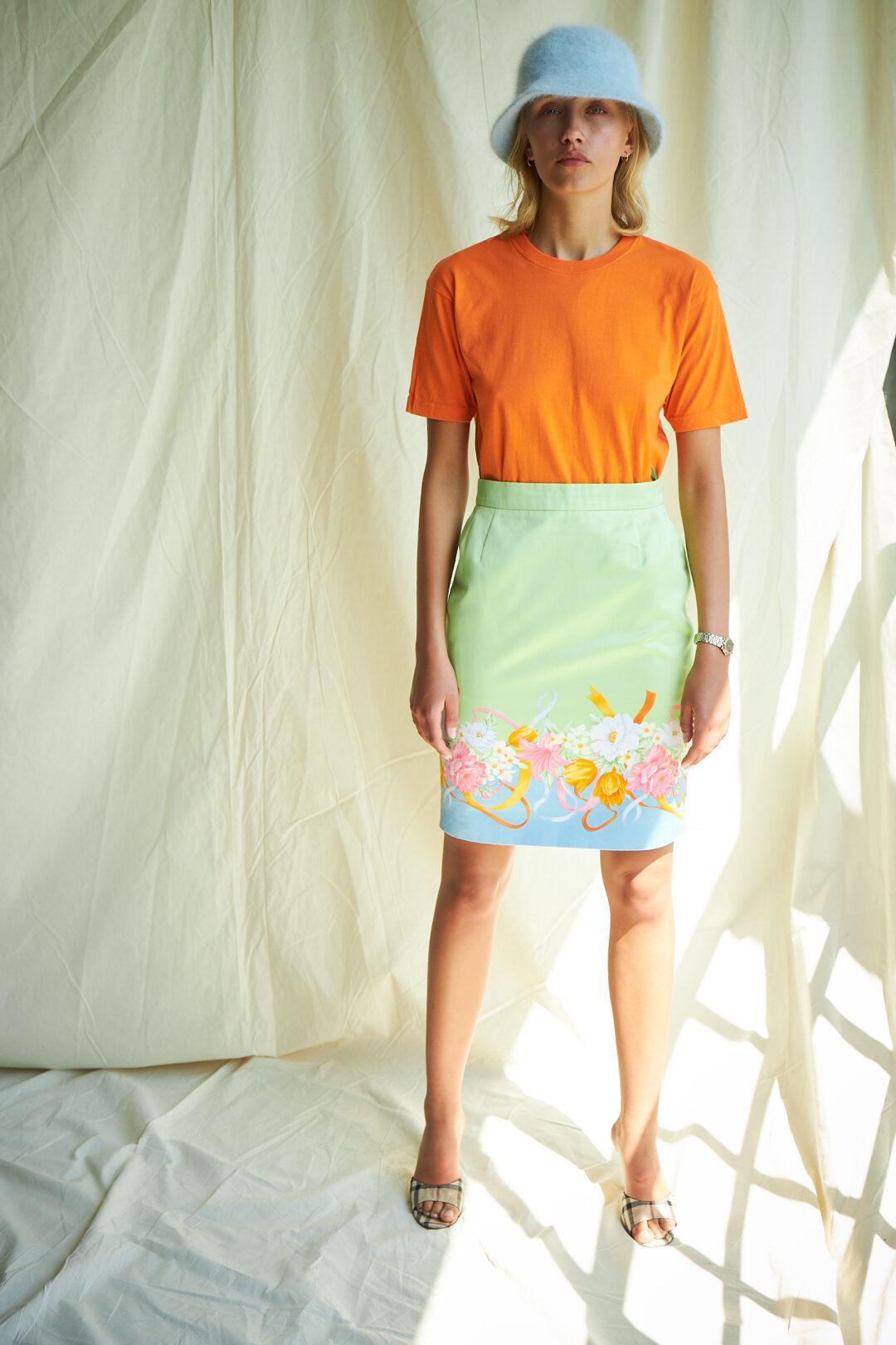 Collect23 shirt vintage orange