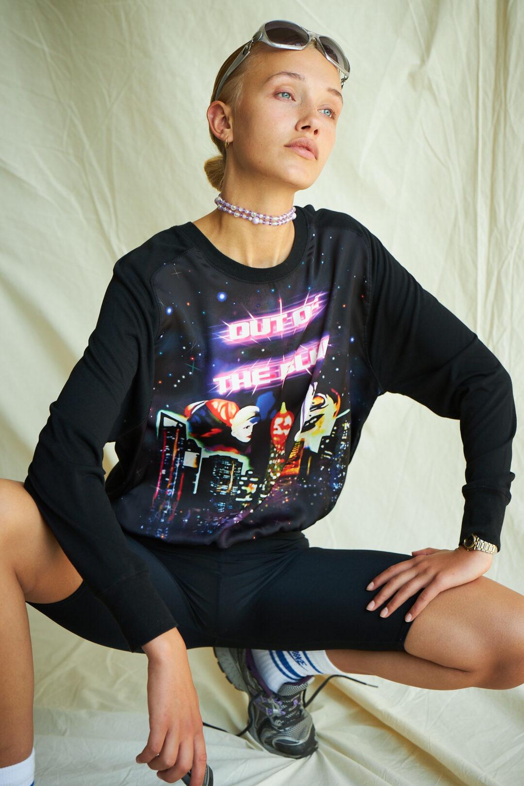 Space sweatshirt vintage collect23
