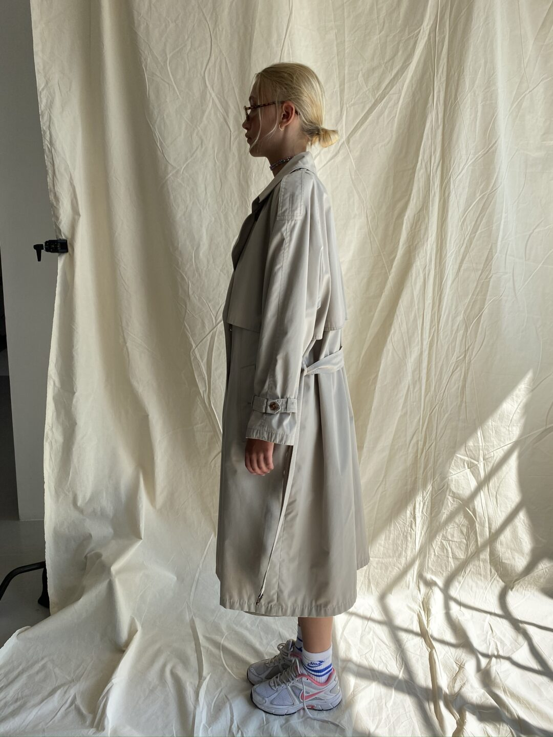 Collect23 trench coat