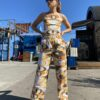 Collect23 Remade pant suit