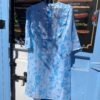 Blue floral Collect23 dress